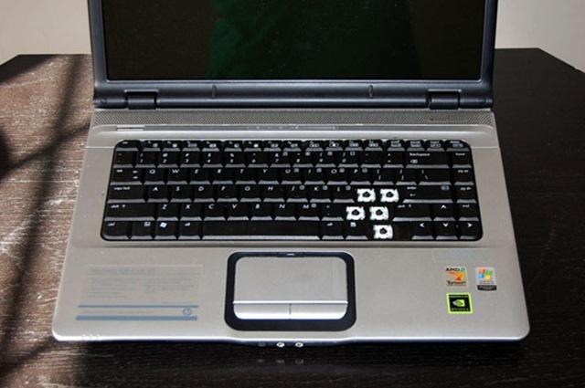 HP Pavilion DV7-6000 Keyboard. Keyboard 639396-001 ...