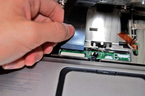 Step 13 - Remove ribbon cable